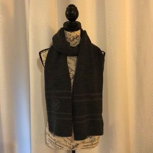 NWT - Michael Kors Charcoal Grey Scarf